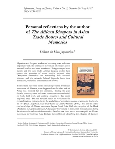 the african diaspora in asian trade routes and cultural memories jayasuriya shihan de silva